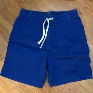 New J. Crew Dock Shorts XS Blue